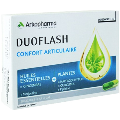 ARKOPHARMA Duoflash Confort articulaire - 20 gélules
