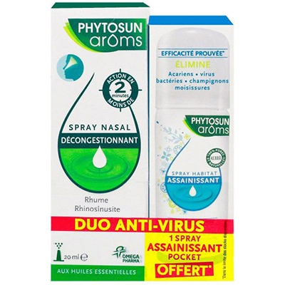 PHYTOSUN AROMS Spray Nasal 20ml + Spray Assainissant 30ml