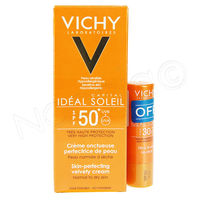 VICHY Ideal Soleil Crème Onctueuse SPF50+ + Stick OFFERT