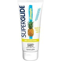 HOT SUPERGLIDE Lubrifiant Comestible Saveur Ananas