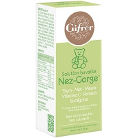GIFRER Solution Buvable Nez-Gorge 125ml