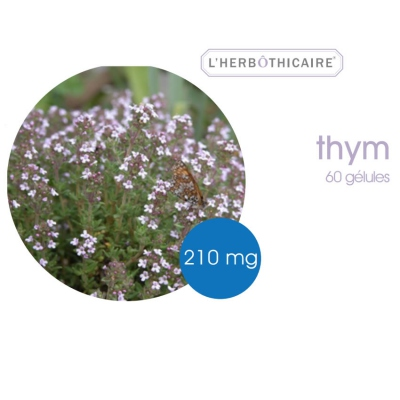 L'HERBOTHICAIRE Thym 210mg 60 gélules