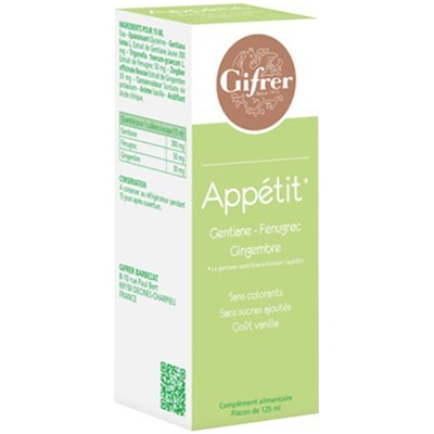 GIFRER Appétit Solution Buvable 125ml