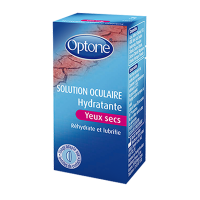 OPTONE Solution Oculaire Hydratante yeux Secs 10ml
