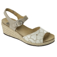 SCHOLL GALYN Taupe/naturel 36