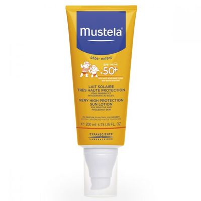 MUSTELA Solaire SPF50+ Lait 200ml
