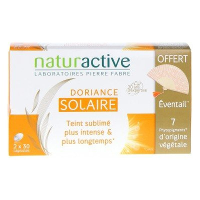 DORIANCE Solaire 2x30 capsules + Eventail OFFERT