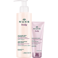 NUXE Body Lait Fluide Corps Hydratant 24h 400ml + Gommage 200ml