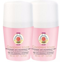 ROGER ET GALLET Gingembre Rouge Déodorant Roll-on 2x50ml
