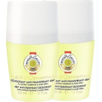 ROGER ET GALLET Fleur d'Osmanthus Déodorant Roll-on 2x50ml