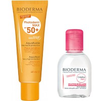 BIODERMA Photoderm MAX SPF50+ Aquafluide 40ml + Créaline H2O 100ml