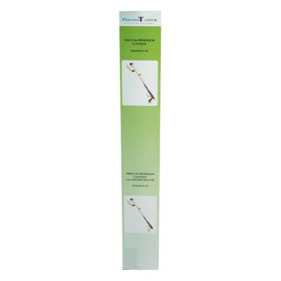 PHARMA TECNICS Pince de Préhension Pliable 58cm