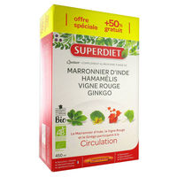 SUPER DIET Quatuor Circulation 30 ampoules