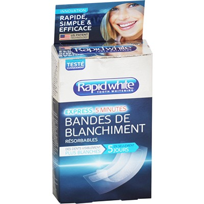 RAPID WHITE 14 Strips de Blanchiment
