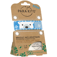 PARAKITO Kids Bracelet Anti-moustique Ours Polaire