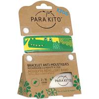 PARAKITO Kids Bracelet Anti-moustique Crocodile