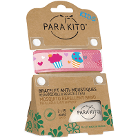 PARAKITO Kids Bracelet Anti-moustique Cupcake