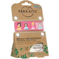 PARAKITO Kids Bracelet Anti-moustique Princesse