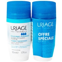 URIAGE Déodorant Puissance 3 Roll-on 2x50ml