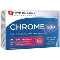 FORTE PHARMA Chrome 200 30 comprimés