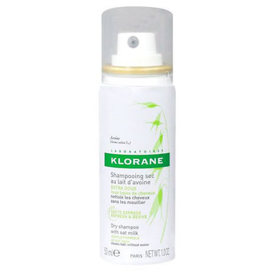 Klorane Shampooing Sec au Lait d'Avoine Spray 50ml