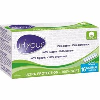 UNYQUE Tampons Sans Applicateur Normal x16