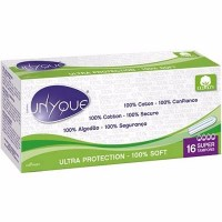 UNYQUE Tampons Sans Applicateur Super x16