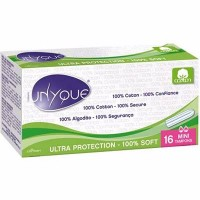 UNYQUE Tampons Sans Applicateur Mini x16