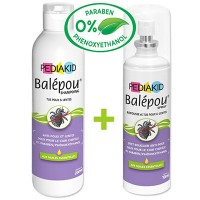 PEDIAKID Balépou Shampooing 200ml + Spray 100ml