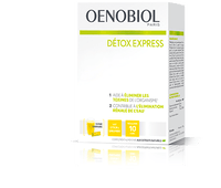 OENOBIOL Détox Express Citron Gingembre 10 Sticks