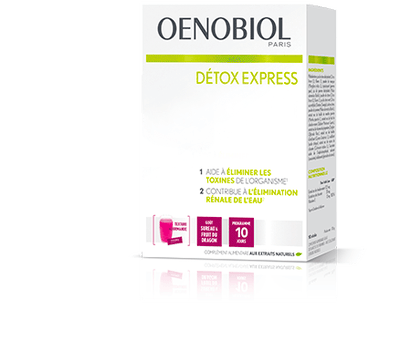 OENOBIOL Détox Express Sureau Fruit du Dragon 10 Sticks