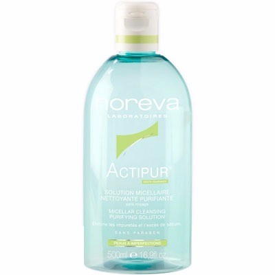 NOREVA Actipur Solution Micellaire Nettoyante Purifiante 500ml