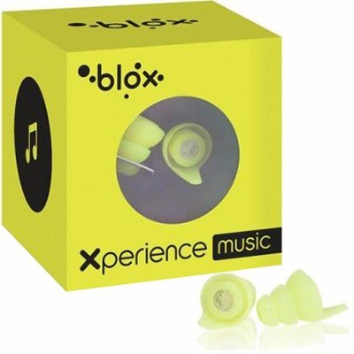 BLOX Xperience Music Protections Auditives Concert Jaune 1 paire