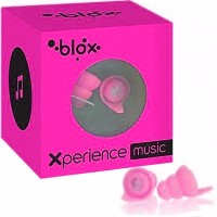 BLOX Xperience Music Protections Auditives Concert Rose 1 paire
