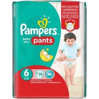 PAMPERS Baby-Dry Pants +16kg Taille 6 - 19 couches-culottes