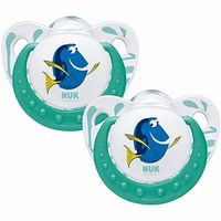 NUK 2 Sucettes Silicone Dory Taille 2 +6mois