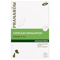 PRANAROM Aromaforce Capsules Inhalation Bio x15
