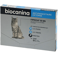BIOCANINA Fiprocat Chat 3 pipettes
