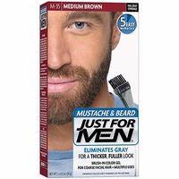 JUST FOR MEN Coloration Barbe Châtain M35