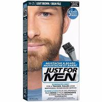 JUST FOR MEN Coloration Barbe Châtain Clair M25