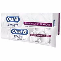 ORAL-B 3D White Luxe Blancheur et Glamour Dentifrice 75ml