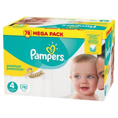 Pampers Premium Protection 8 16kg Taille 4 78 Couches Pas Cher