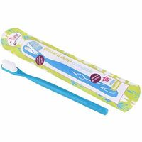 LAMAZUNA Brosse à Dents Rechargeable Bleue Medium