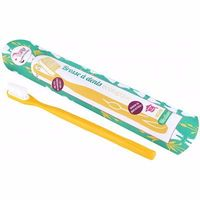 LAMAZUNA Brosse à Dents Rechargeable Jaune Medium
