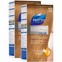 PHYTO Phytocolor 8CD Blond Vénitien Lot de 2
