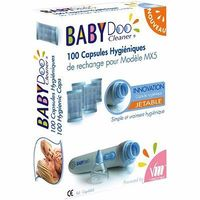 BABYDOO 100 capsules hygiéniques jetables