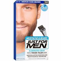 JUST FOR MEN Coloration Barbe Châtain Moyen Foncé M40
