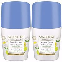 SANOFLORE Déodorant Vent de Citrus Roll-on 2x50ml