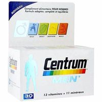 Centrum Men 30 comprimés