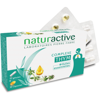 NATURACTIVE Complexe Thym - 10 gélules + 10 capsules